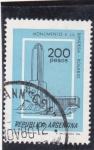 Stamps : America : Argentina :  MONUMENTO A LA BANDERA-ROSARIO