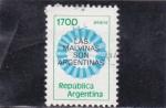 Stamps Argentina -  Las Malvinas son argentinas