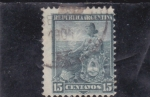 Stamps America - Argentina -  campesina