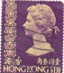 Stamps Hong Kong -  ISABEL II