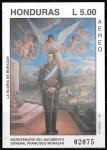 de America - Honduras -  Bicentenario Francisco Morazan
