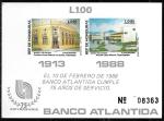 de America - Honduras -  75 Aniversario Banco Atlántida