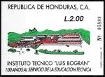 Sellos del Mundo : America : Honduras : Centenario Instituto Técnico Luis Bogran