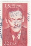 Stamps : America : United_States :  T.S.ELIOT