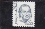 de America - Estados Unidos -  JOHN J.AUDUVON