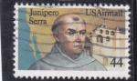 Stamps : America : United_States :  FRAY JUNIPERO SERRA