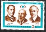 de Europa - Hungría -  Congreso Europeo de Médicos Oculistas,Allvar Gullstrand, V. P. Filatov, Jules Gonin