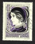 Stamps Hungary -  Margit Kaffka, escritora