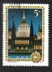 de Europa - Hungría -  20 años de Constitución húngara, Casa del Parlamento, Budapest