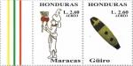 de America - Honduras -  Instrumentos musicales autóctonos mesoamericanos