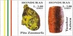 Sellos del Mundo : America : Honduras : Instrumentos musicales autóctonos mesoamericanos