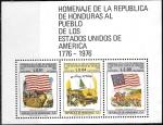 Sellos del Mundo : America : Honduras : Homenaje al pueblo de los Estados Unidos de América
