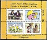 Sellos del Mundo : America : Honduras : Unión Postal de las Américas, España y Portugal