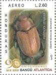 Stamps Honduras -  Coleópteros de Honduras