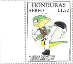 Sellos del Mundo : America : Honduras : VI Juegos Deportivos Centroamericanos