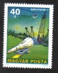Stamps : Europe : Hungary :  Investigación Espacial (1977)