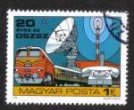 Stamps : Europe : Hungary :  Congresos y conferencias, Conferencia de ministros postales de países socialistas