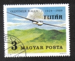 Stamps : Europe : Hungary :   Airplanes (1989)