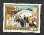 Stamps of the world : Hungary :  Pintura