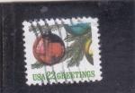 Stamps : America : United_States :  BOLAS DE NAVIDAD-