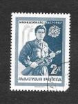 de Europa - Hungría -  10ª Aniversario de los Trabajadores de la Milicia