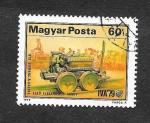 Sellos de Europa - Hungría -  2574 - Locomotora