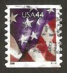 de America - Estados Unidos -  4156A - Bandera nacional