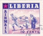 Sellos de Africa - Liberia -  BEISBOL