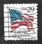 Sellos del Mundo : America : Estados_Unidos : 2120 - Bandera Nacional