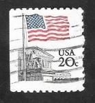 Sellos del Mundo : America : Estados_Unidos : 1372 - Bandera Nacional y La Corte Suprema