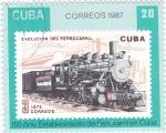 Sellos del Mundo : America : Cuba :  150 ANIV. ESTABLECIMIENTO DEL FERROCARRIL EN CUBA