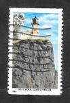 sellos de America - Estados Unidos -  2343 - Faro Split Rock, en lago Superieur