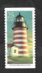 Sellos del Mundo : America : Estados_Unidos : 1898 - Faro West Quoddy Head, en Maine