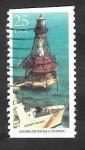 Sellos del Mundo : America : Estados_Unidos : 1899 - Faro American Shoals, en Florida