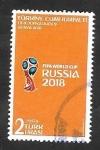 Sellos del Mundo : Asia : Turquía : Campeonato mundial de futbol 2018, en Rusia