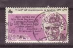 Stamps Spain -  V cent. del descubrimiento de america