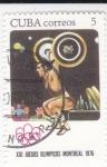 de America - Cuba -  XXI JUEGOS OLÍMPICOS MONTREAL-76