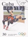 de America - Cuba -  XXI JUEGOS OLÍMPICOS LOS ANGELES,84-