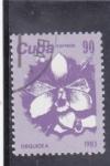Sellos del Mundo : America : Cuba : FLORES- ORQUIDIA