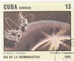Stamps Cuba -  AERONAUTICA- SOLDADORES COSMICOS