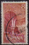 Sellos de Europa - España -  ESPAÑA 1974 2230 Sello Monasterio de Leyre Capiteles Usado