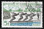Stamps of the world : Ivory Coast :  Natación