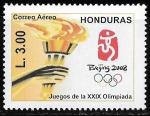 Sellos del Mundo : America : Honduras : XXIX Olimpiada Beijing 2008
