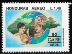 Stamps  -  -  Honduras 1995