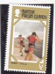 Stamps : Europe : United_Kingdom :  TURISMO EN ISLAS VIRGENES