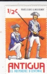 Stamps : America : Antigua_and_Barbuda :  REGIMIENTO ILLINOIS