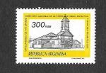 Sellos de America - Argentina -  Capilla del Museo de Río Grande