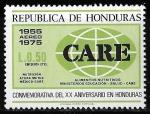 Sellos del Mundo : America : Honduras : XX Aniversario de la sociedad benéfica CARE en Honduras