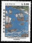 Sellos del Mundo : America : Honduras : V centenario del descubrimiento de América