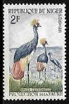Stamps : Africa : Nigeria :   Grullas